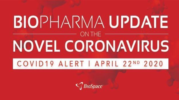 Biopharma Update on the Novel Coronavirus: April 22