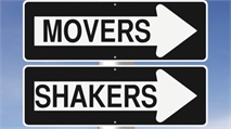 Movers and Shakers Oct. 1