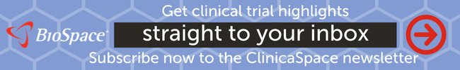 Click here to get clinical trial highlights straight to your inbox. Subscribe now to the ClinicaSpace newsletter
