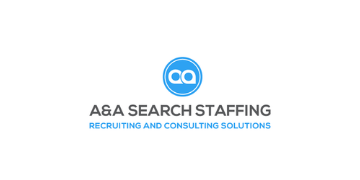 A & A Search Staffing logo