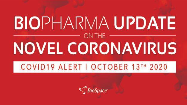 Biopharma Update on the Novel Coronavirus: October 13