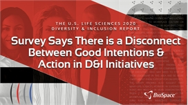 Survey Says There is a Disconnect Between Good Intent and Action in D&I Initiatives