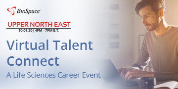 Virtual Upper Northeast Talent Connect | 10.1.2020