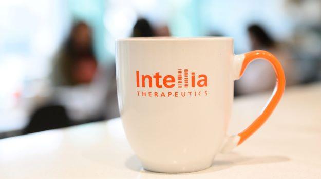Intellia Coffee Mug_courtesy Intellia Therapeutics