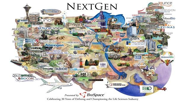 NextGen Bio Class of 2015 Hotbed Map