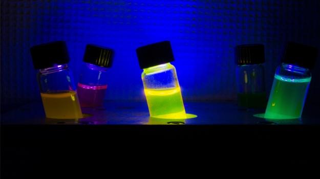 Test Tubes in Dark