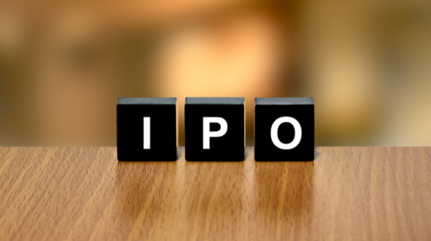 IPO letters on blocks on edge of table