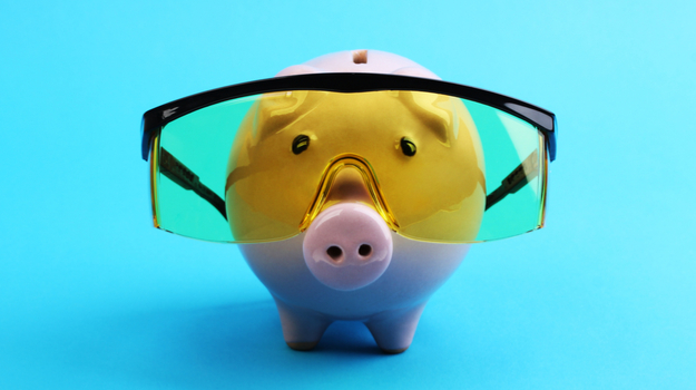 Piggy Bank Goggles