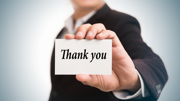 How To Write The Perfect Post Interview Thank You Note Biospace