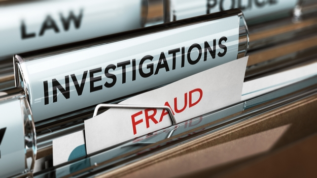 Fraud and investigation folders filed