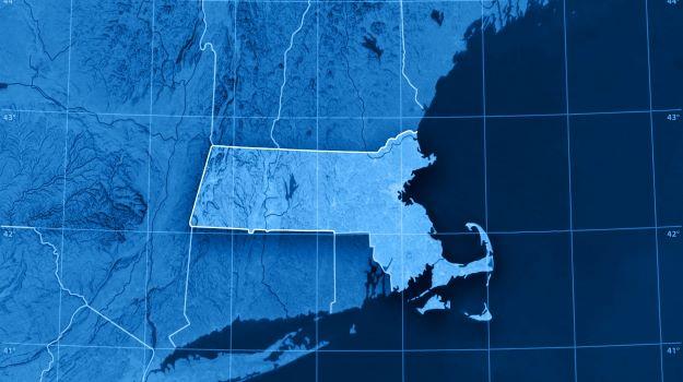 Massachusetts on Map