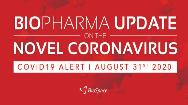 Biopharma Update on the Novel Coronavirus: August 31